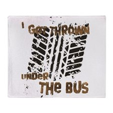 Under The Bus Throw Blanket