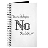 Theatre sayings funny Journals & Spiral Notebooks
