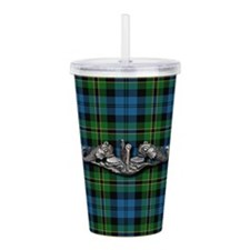Sub Warfare Polaris tartan Acrylic Double-wall Tum