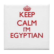 Keep Calm I'm Egyptian Tile Coaster