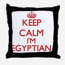 Keep Calm I'm Egyptian Throw Pillow