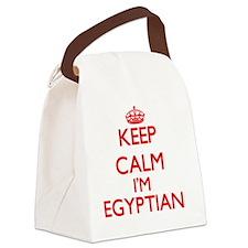 Keep Calm I'm Egyptian Canvas Lunch Bag