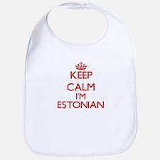 Keep Calm I'm Estonian Bib