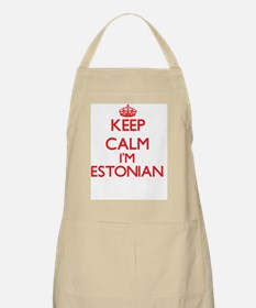 Keep Calm I'm Estonian Apron
