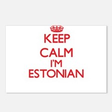 Keep Calm I'm Estonian Postcards (Package of 8)
