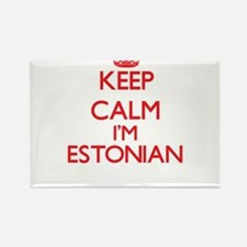 Keep Calm I'm Estonian Magnets