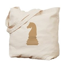Chess Piece Knight Tote Bag