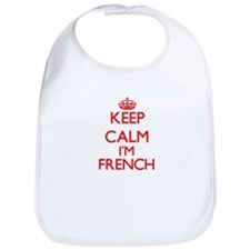 Keep Calm I'm French Bib
