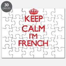 Keep Calm I'm French Puzzle