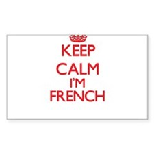 Keep Calm I'm French Decal