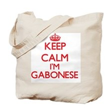 Keep Calm I'm Gabonese Tote Bag