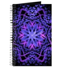 Pretty Purple Fractal Journal