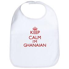 Keep Calm I'm Ghanaian Bib