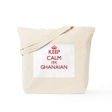 Keep Calm I'm Ghanaian Tote Bag