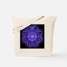 Pretty Purple Fractal Tote Bag