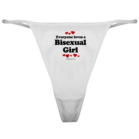 Everyone loves a Bisexual Girl Classic Thong