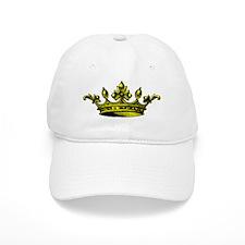 Crown Yellow Black Baseball Cap