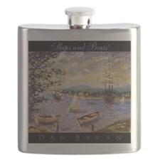 Impressionism Flask