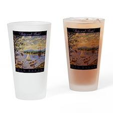 Impressionism Drinking Glass