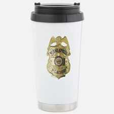 Cute Investigator police officer detective Travel Mug