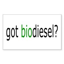 got biodiesel Rectangle Decal