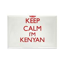 Keep Calm I'm Kenyan Magnets