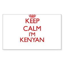 Keep Calm I'm Kenyan Decal