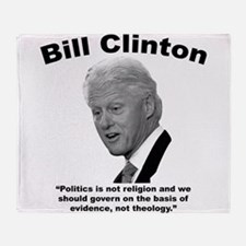Clinton: Govern Throw Blanket
