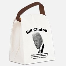 Clinton: Govern Canvas Lunch Bag