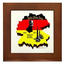 Pershing In Germany Framed Tile
