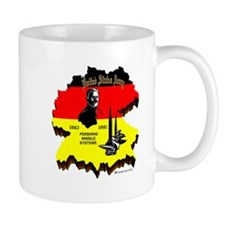 Pershing In Germany Mugs