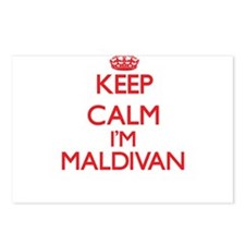 Keep Calm I'm Maldivan Postcards (Package of 8)