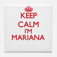 Keep Calm I'm Mariana Tile Coaster
