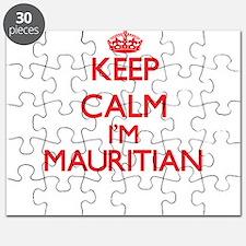 Keep Calm I'm Mauritian Puzzle
