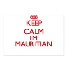 Keep Calm I'm Mauritian Postcards (Package of 8)