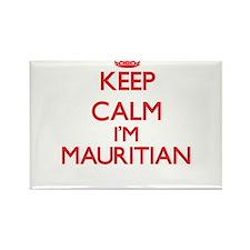 Keep Calm I'm Mauritian Magnets