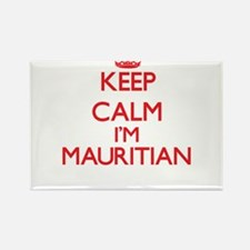 Keep Calm I'm Mauritian Magnets