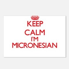 Keep Calm I'm Micronesian Postcards (Package of 8)