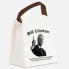 Clinton: Aid Canvas Lunch Bag