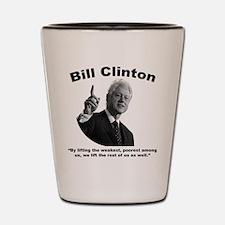 Clinton: Aid Shot Glass