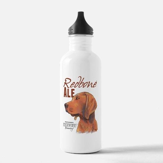 Redbone Ale Label Water Bottle
