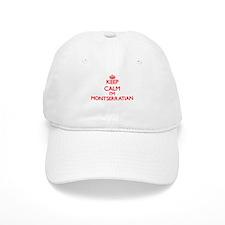 Keep Calm I'm Montserratian Baseball Cap