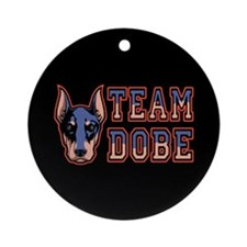 Team Dobe Ornament (Round)