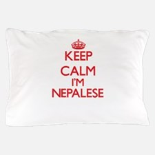 Keep Calm I'm Nepalese Pillow Case