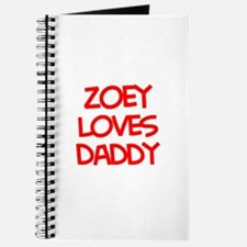 Zoey Loves Daddy Journal