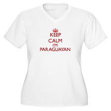Keep Calm I'm Paraguayan Plus Size T-Shirt