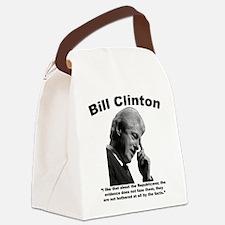 Clinton: Republicans Canvas Lunch Bag