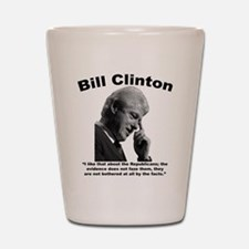 Clinton: Republicans Shot Glass