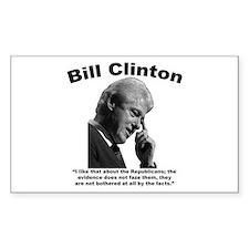 Clinton: Republicans Decal