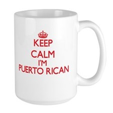 Keep Calm I'm Puerto Rican Mugs